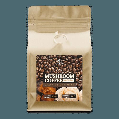 grzyby nootropowe, kawa z grzybkami